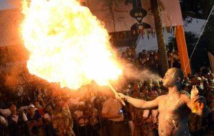El carnaval llevó alegría a la capital