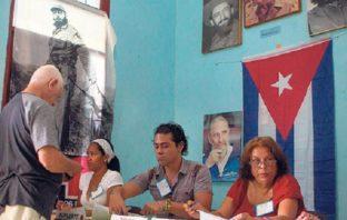 Cubanos votaron ayer en referendo