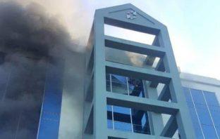 Un mexicano se lanza de un quinto piso creyendo que se quemaba su edificio