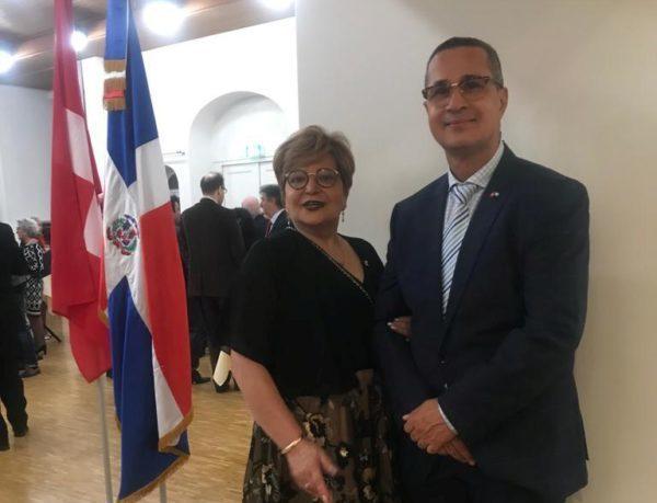 Consulado dominicano en Zurich celebra Independencia.