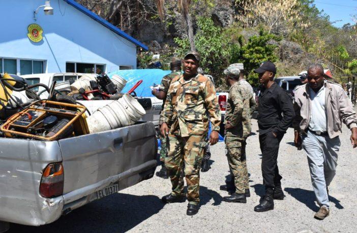 Autoridades realizan operativo contra lavaderos clandestinos en medio de la sequía