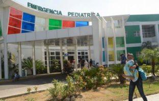 Hospital pediátrico Arturo Grullón.
