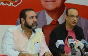 Federico Antún Batlle, presidente del PRSC, y Ramón Rogelio Genao, secretario general.