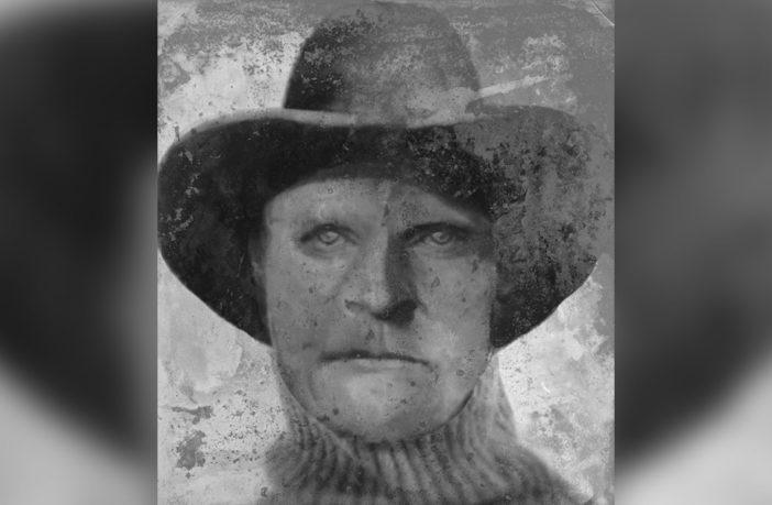 Una imagen compuesta creada por el Proyecto DNA Doe, que intenta mostrar cómo podría haber verse Joseph Henry Loveless.