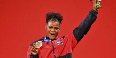 República Dominicana gana tercera medalla con bronce de Crismery Santana