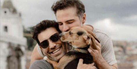 Actor de telenovelas Roberto Manrique presenta a su novio